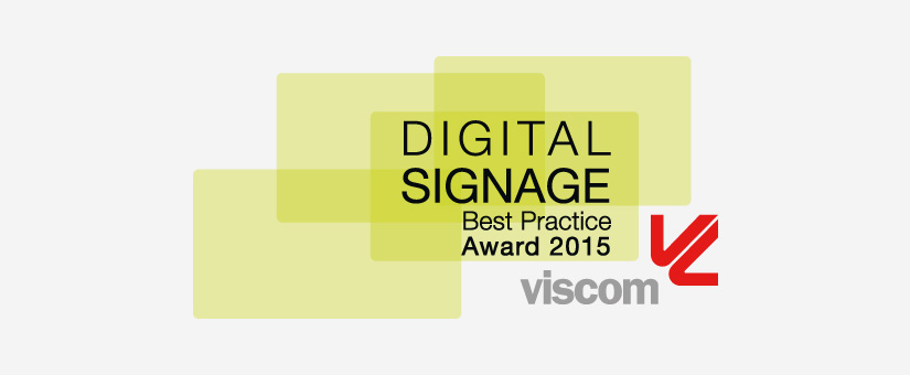 Digital Signage Best Practice Award